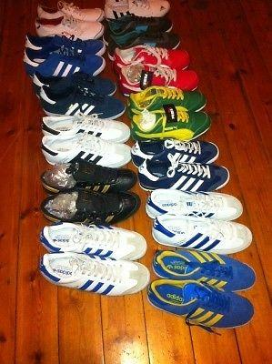 100% LEATHER BRAND NEW SNEAKERS:ADDIDAS,PUMA,LEVIS