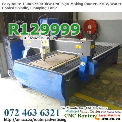 1300×2500mm 3kW CNC Sign-Making Routing Machines for