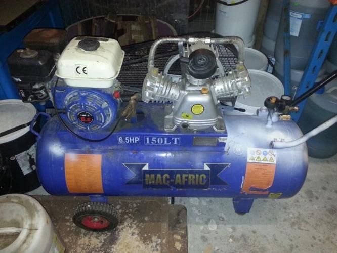 150 liter compressor