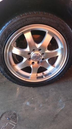 15'' rims without tyres