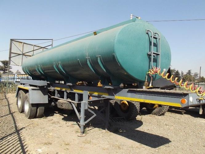 16000lt Double Axle Water Tanker Trailer