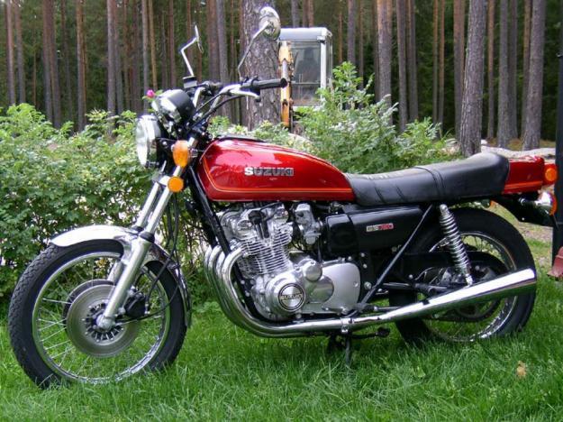 1976 GS 750 SUZUKI 100% ORIGINAL