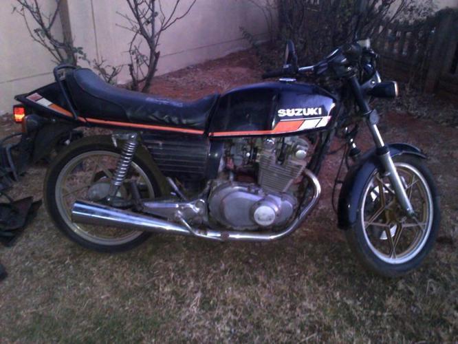 1980 Suzuki GS450s