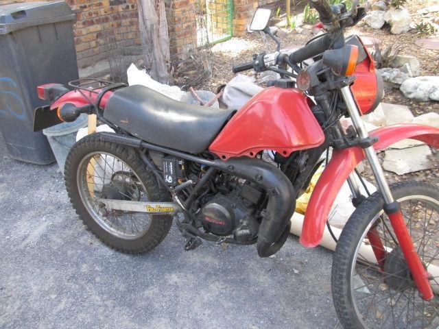 1982 Suzuki ER 125, TS 50 for Sale in Somerset West, Western