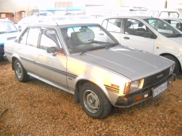 1984 Toyota Corolla 1.6 GLS