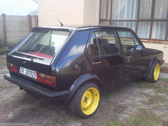 1984 Volkswagen Golf Hatchback