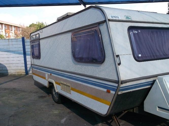 1985 Sprite Sport Caravaan