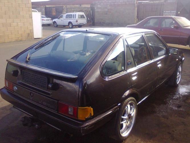 1986 Toyota Avante Sedan