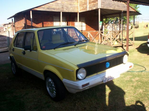 1986 VW Citi Golf
