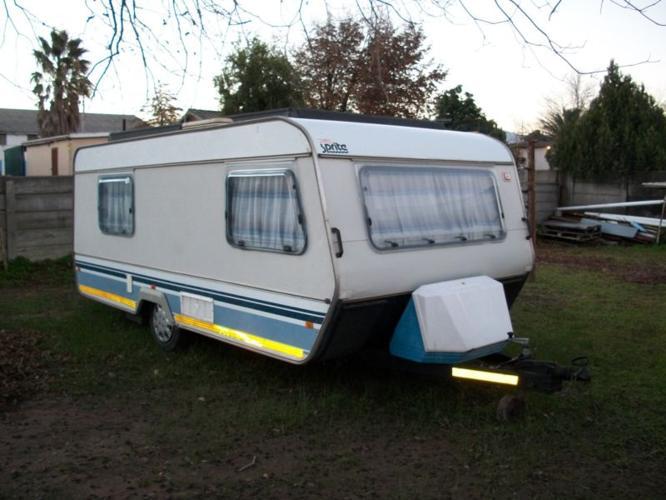 1989 Sprite Super Sport Caravan