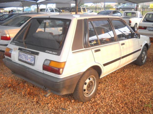1989 Toyota Conquest 1.6