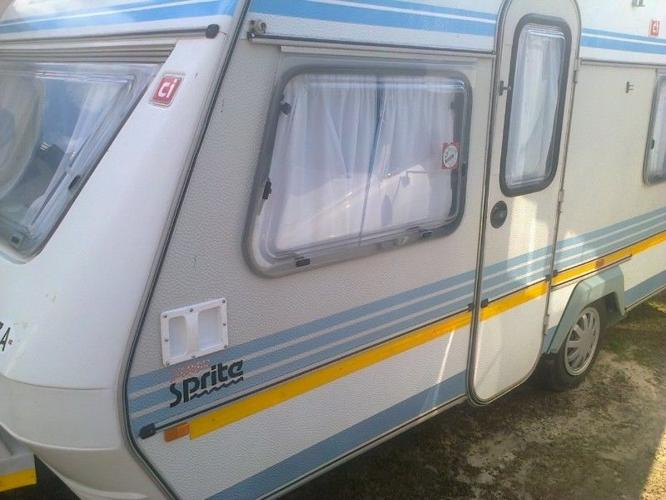 1992 Sprite Sport Caravan