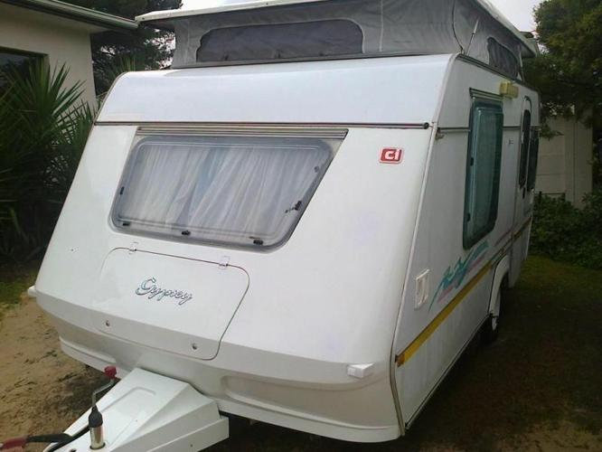 1995 Gypsey Romany Caravan