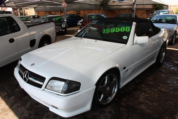 1995 MERCEDES-BENZ SL600 AMG CONVERTIBLE R159,500.00