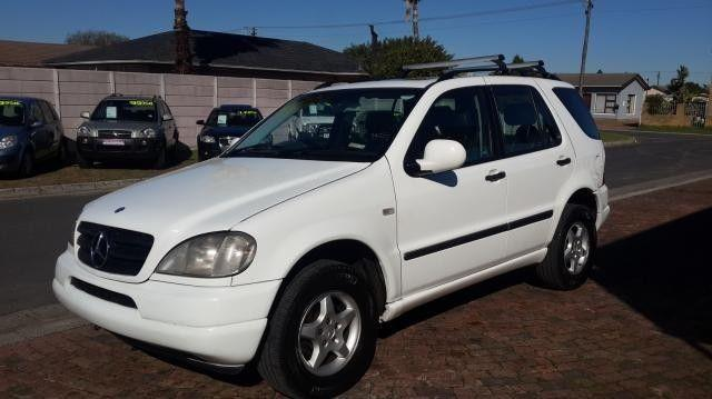 2001 Mercedes-Benz ML270 CDi SUV (Automatic). Very Good