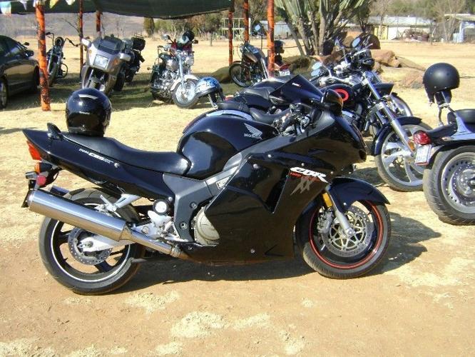 2002 Honda CBR Blackbird