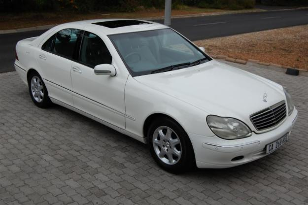 2002 mercedes benz s 320 automatic for sale in cape town for Mercedes benz s320 price