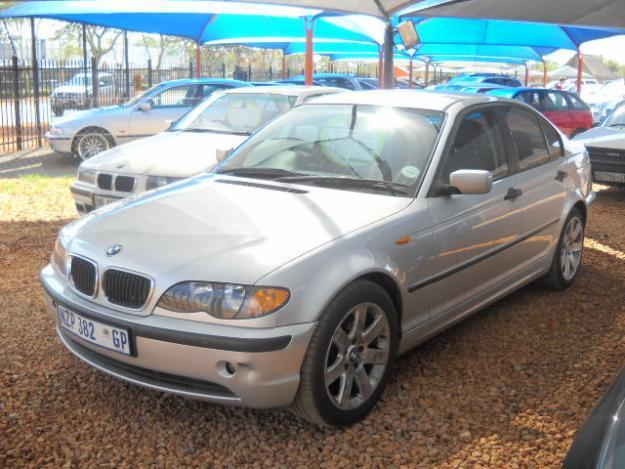 2003 BMW 320D manual