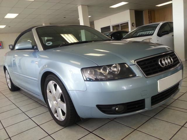 2004 Baby Blue AUDI A4 3.0 Cabriolet Multitronic in