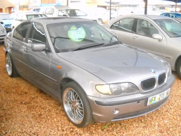 2004 BMW 320i manual