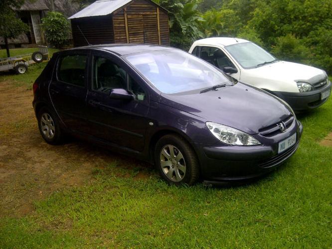 2004 Peugeot 307 Hatchback