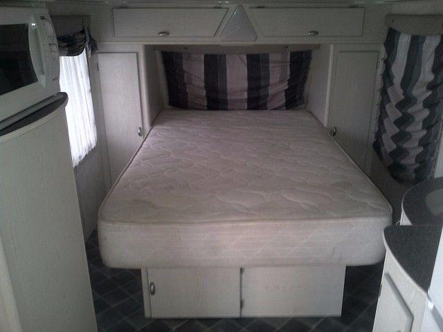 2004 SPRITE SWING CARAVAN LUXURIOUS BEDROOM ON WHEELS