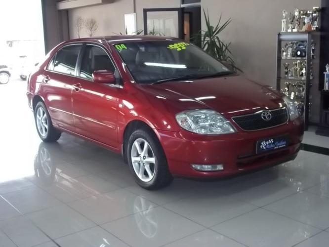 2004 Toyota Corolla Sedan 160i GLS R1700 P/M T'S & C'S