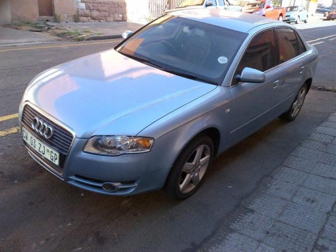 2005 Audi A4 2.0T Sedan for R105,000 neg.