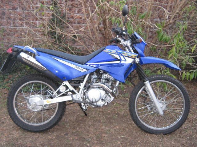 2005 Yamaha XTZ 125 Scrambler