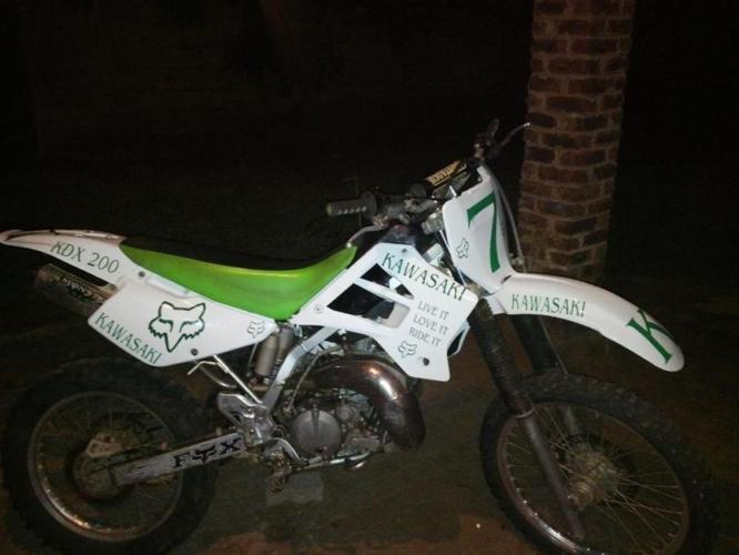 2006 Kawasaki KDX