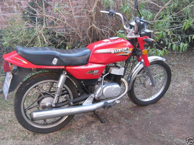 2006 Suzuki AX 100 - Road Bike