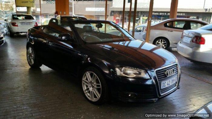 2008 Audi A3 2.0t fsi/dsg auto Convertible!!!