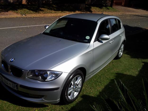 2008 BMW 118i 5 Door Manual Silver 40000km