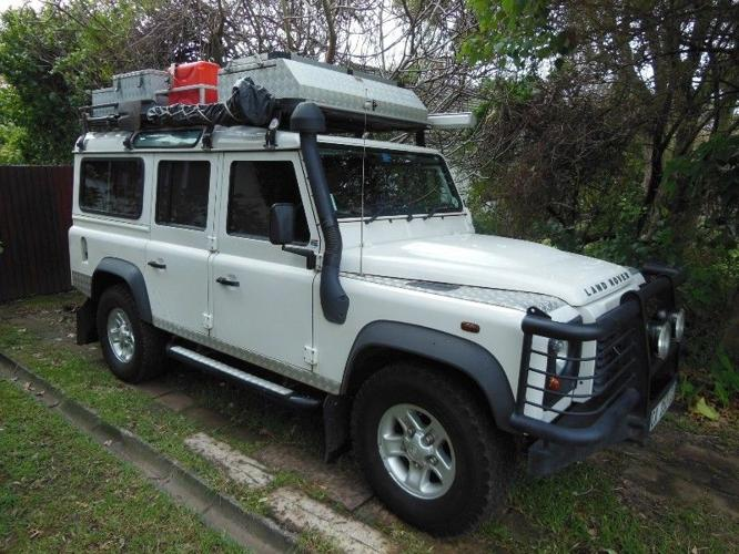 2008 Land Rover Defender 110 SW Overland Expedition