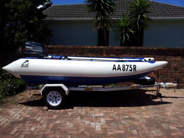 2010 Aquarius racing duck (pencil boat) 40hp Yamaha Outboard