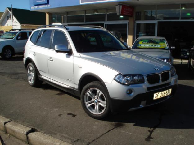 2010 bmw x3 x drive auto steptronic for sale in cape town western cape classified. Black Bedroom Furniture Sets. Home Design Ideas