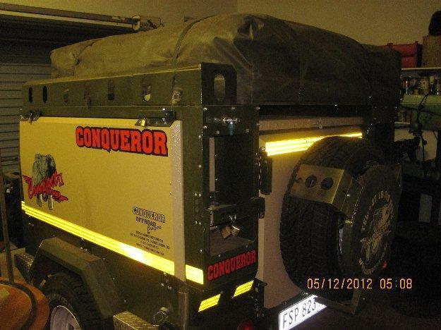 2010 CONQUEROR 4x4 trailer