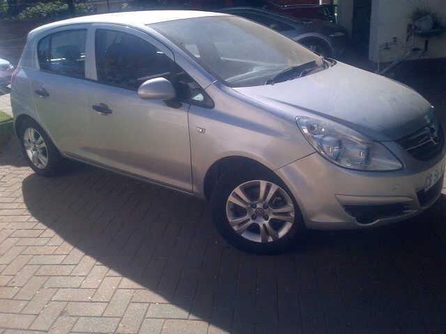 2012 Opel Corsa Hatchback