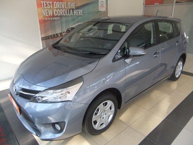 2014 Toyota Verso Hatchback 1.6 @ R275 000
