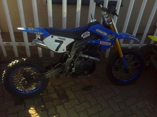 250cc off road motocross