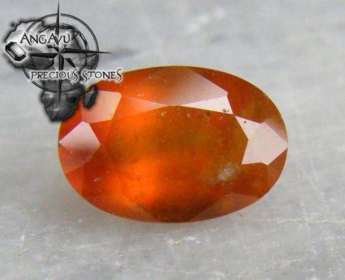 2.75 ct Natural Oval Hessonite Garnet