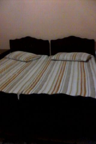 2 piece imbuia bedroom set in good condition