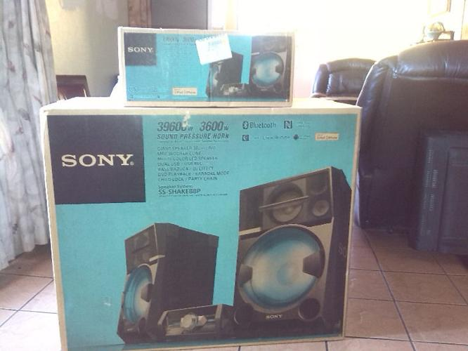2 Sony sound systems for sale