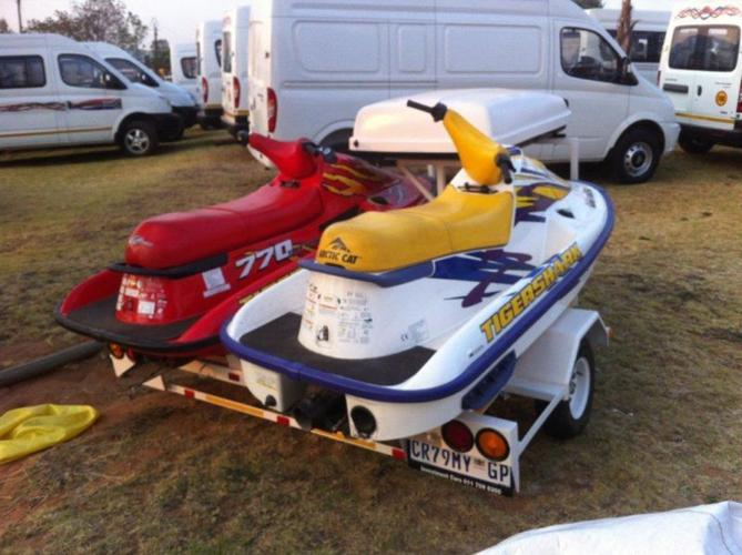 2 x 1997 Tiger shark Jet ski's for Sale in Johannesburg