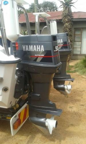 2 x 90 HP Yamaha outboard engines for Sale in Kempton Park