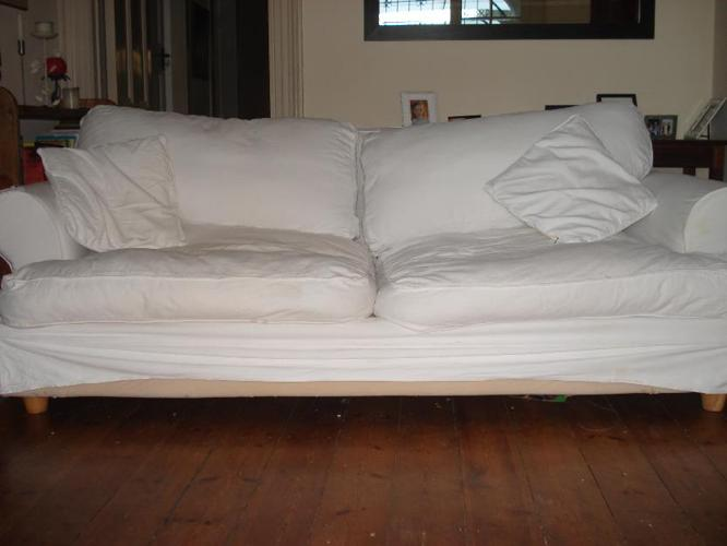 2 X Coricraft Slip Cover Couches For Sale Used But For