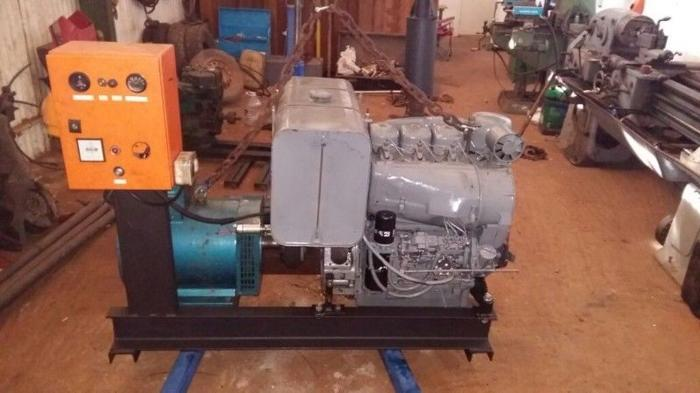 30 kva 3fase generator with 3cyl deutz engine