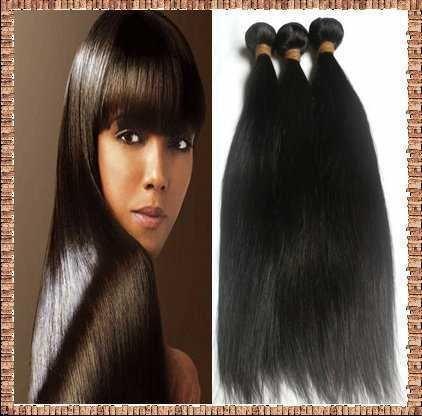 3 bundle Indian virgin remy hair extensions