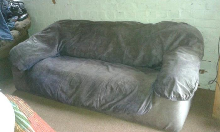 3 seater hippy couch