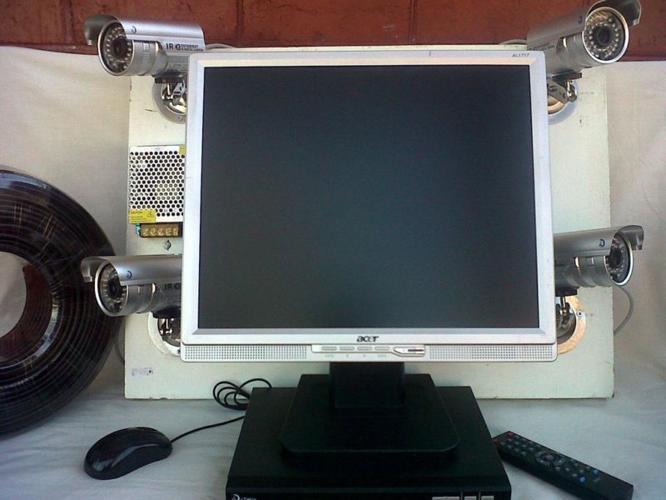 4 CHANNEL CCTV SYSTEM. R3000 !!!